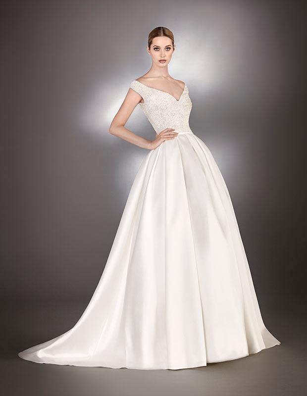 vestidos de novia hannibal laguna en pamplona   gala boutique