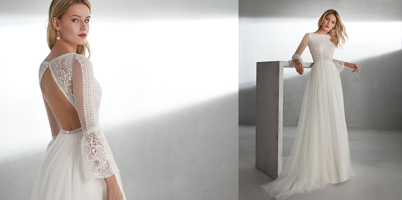 bda5d2028 Pide tu cita  Vestido de novia Valerio Luna